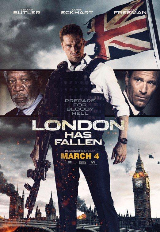 دانلود فیلم دوبله سقوط لندن London Has Fallen 2016 + لینک مستقیم