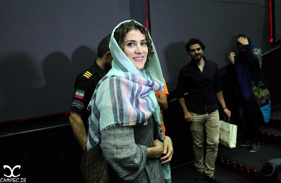 ویشکا آسایش در اکران مردمی فیلم چهارشنبه