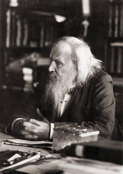 ديميتری مندلیف ؛ مبتكر جدول تناوبی عناصر