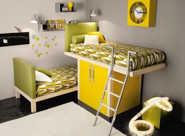 اتاق خواب برای دو کودک