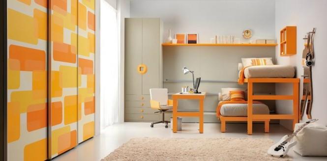 اتاق اشتراکی برای دو کودک