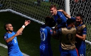 نتیجه بازی فرانسه و ایسلند 13 تیر 95 یورو2016 گلها و خلاصه دیشب