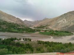 گزارش تصویری از منطقه لزیر در مرکز ولایت دایکندی