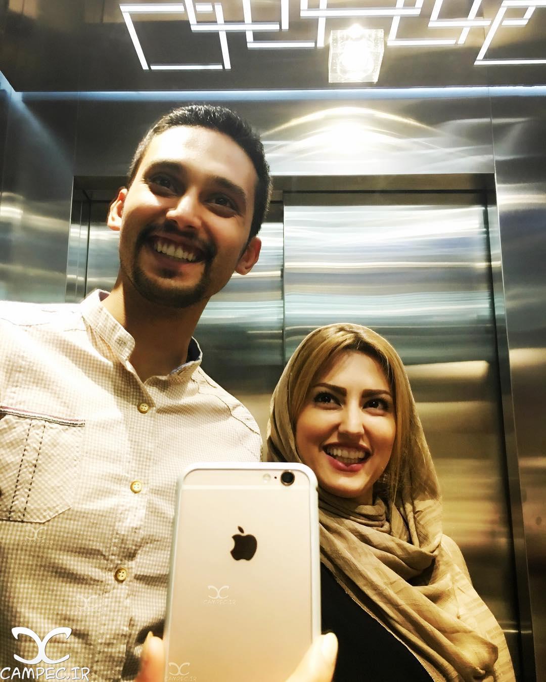 عکس سلفی سمیرا حسینی با برادرش