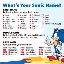 اسم سونیکیه شما چیه؟