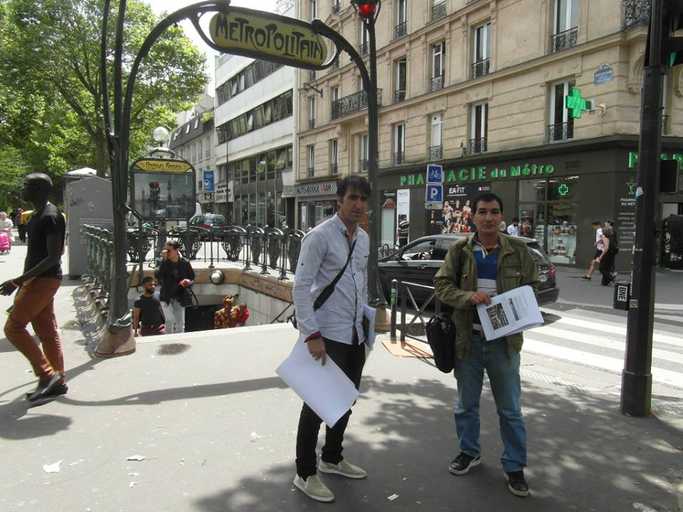 اطلاعیۀ شماره 2 فعالیتهای افشاگرانۀ گسترده توسط جداشدگان فرقۀ رجوی در فرانسه