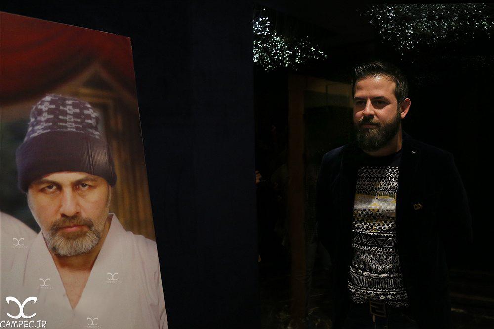 هومن سیدی در اکران فیلم دراکولا
