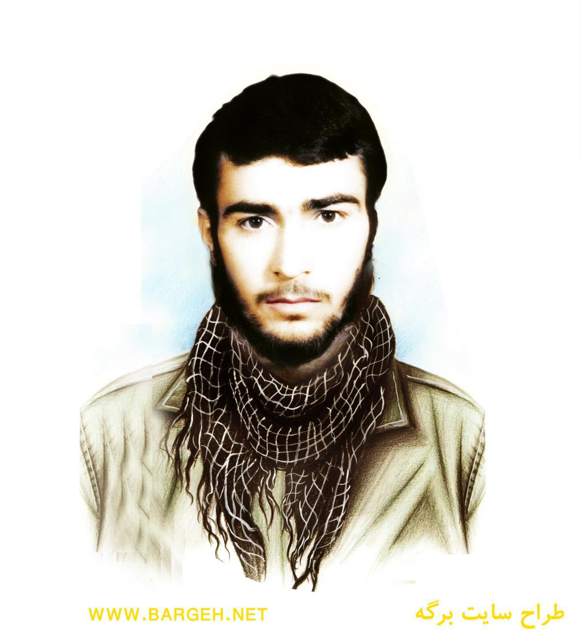 نقاشی شهید نظر علی معافی
