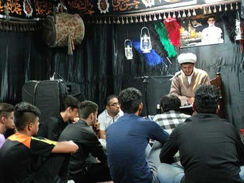 جلسات هفتگی هیئت زوّارالحسین (ع) - سخنرانی حجت الاسلام والمسلمین عطائی