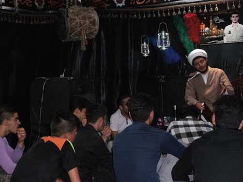 برگزاری جلسات هفتگی هیئت زوّارالحسین(ع) - سخنرانی حجت الاسلام والمسلمین عطائی