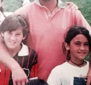 عکسی از همبازی کودکی مسی , حاشیه ورزشی
