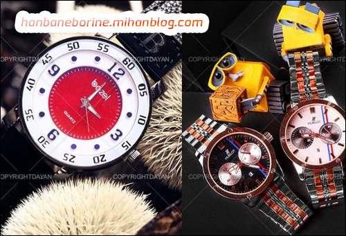 انواع مدل ساعت مچی زنانه مردانه 1395