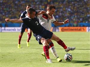 نتیجه بازی فرانسه و آلمان 17 تیر 95 یورو2016 خلاصه و گلها دیشب
