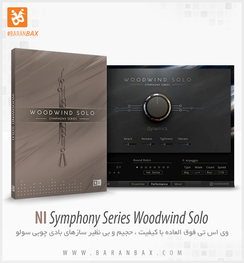 دانلود وی اس تی Native Instruments Symphony Series Woodwind Solo