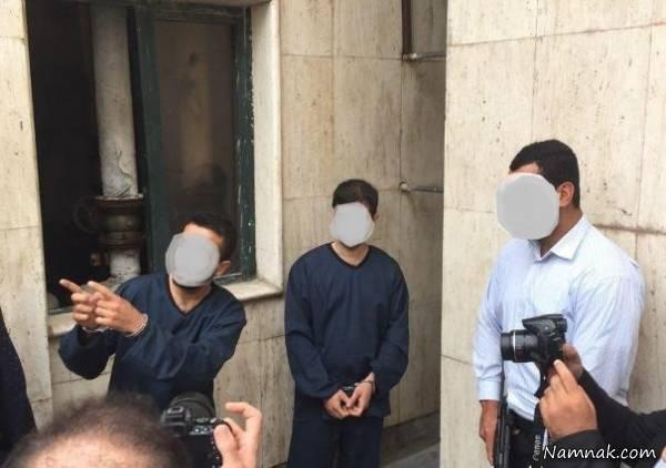 بازداشت دزدان بانک ملی تنکابن +عکس و جزئیات