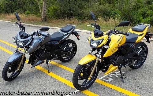 قیمت موتور سیکلت آپاچی - 28