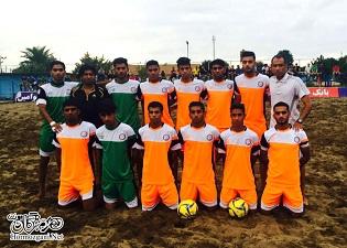 صعود مقتدرانه جوانان فوتبال ساحلی شهرداری