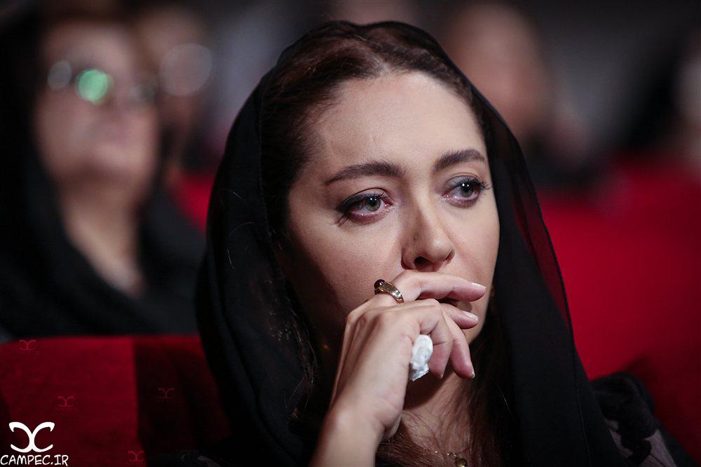 نیکی کریمی در مراسم یادبود عباس کیارستمی
