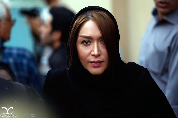 سارا منجزی در مراسم یادبود عباس کیارستمی