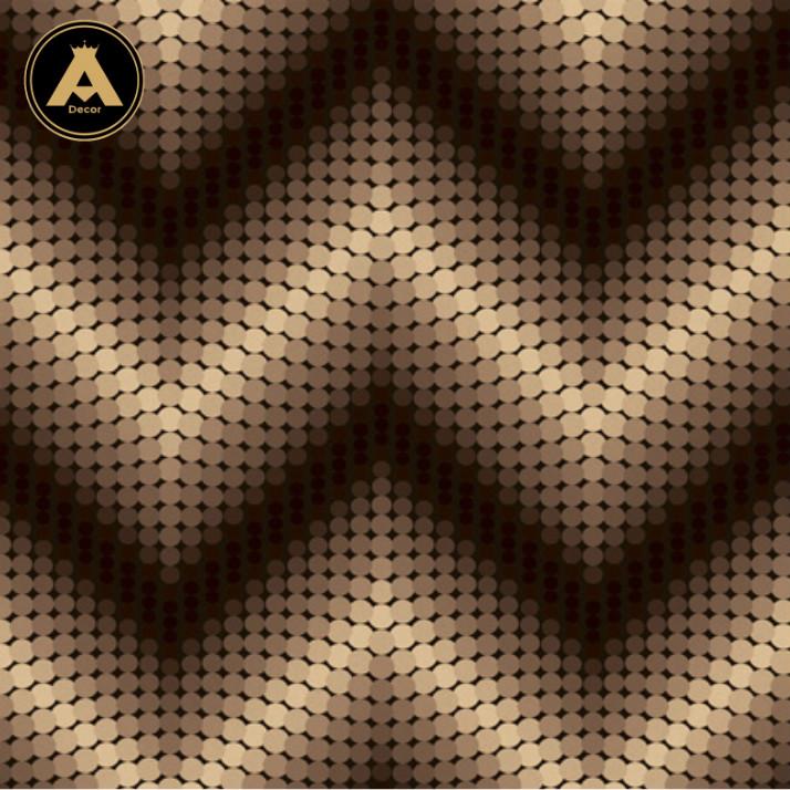 image کاغذ دیواری سه بعدی زیکزاک