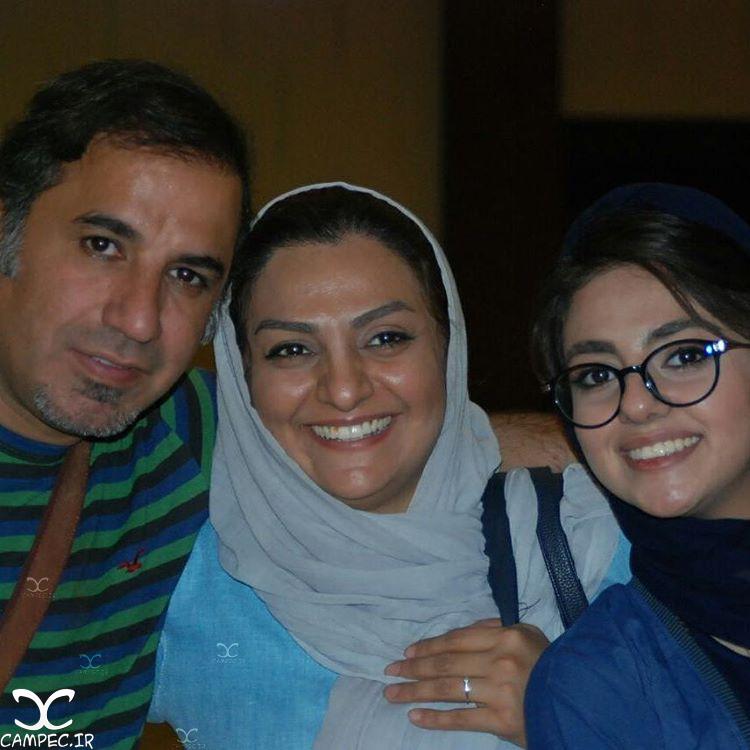علی سلیمانی و همسر و دخترش