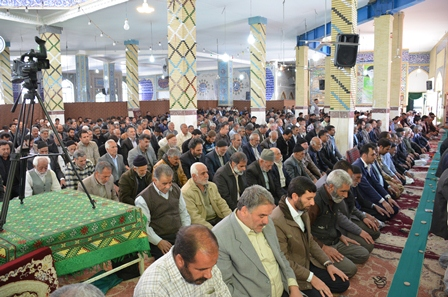نماز عبادی سیاسی جمعه 25  تیرماه 95
