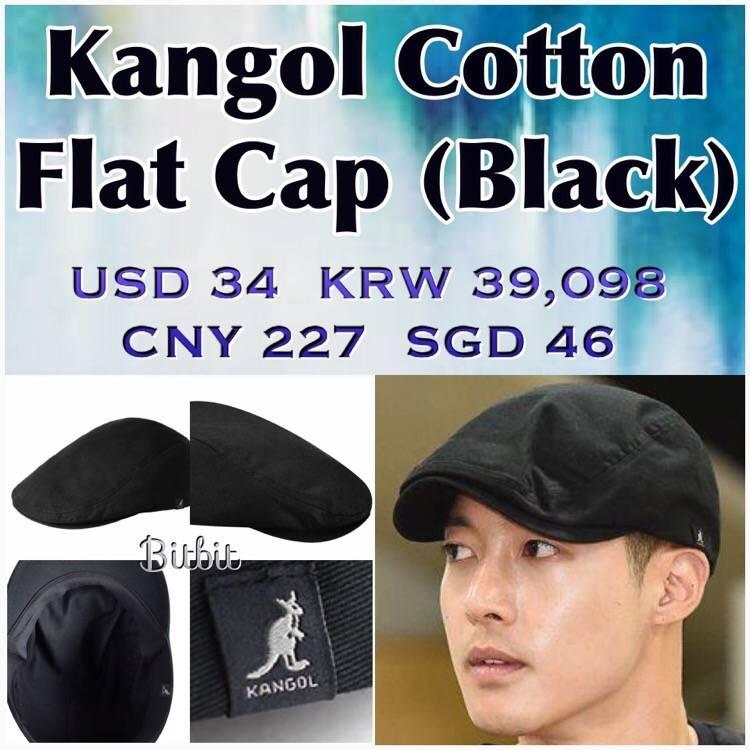 Sponsor - Kangol Cotton Flat Cap