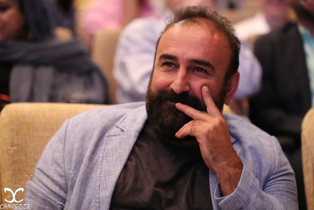 مهران احمدی در اختتامیه جشنواره فیلم سلامت