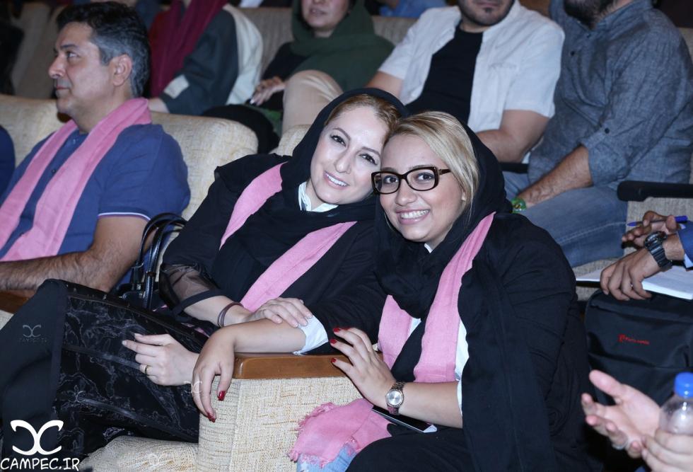 شقایق دهقان در اختتامیه جشنواره فیلم سلامت