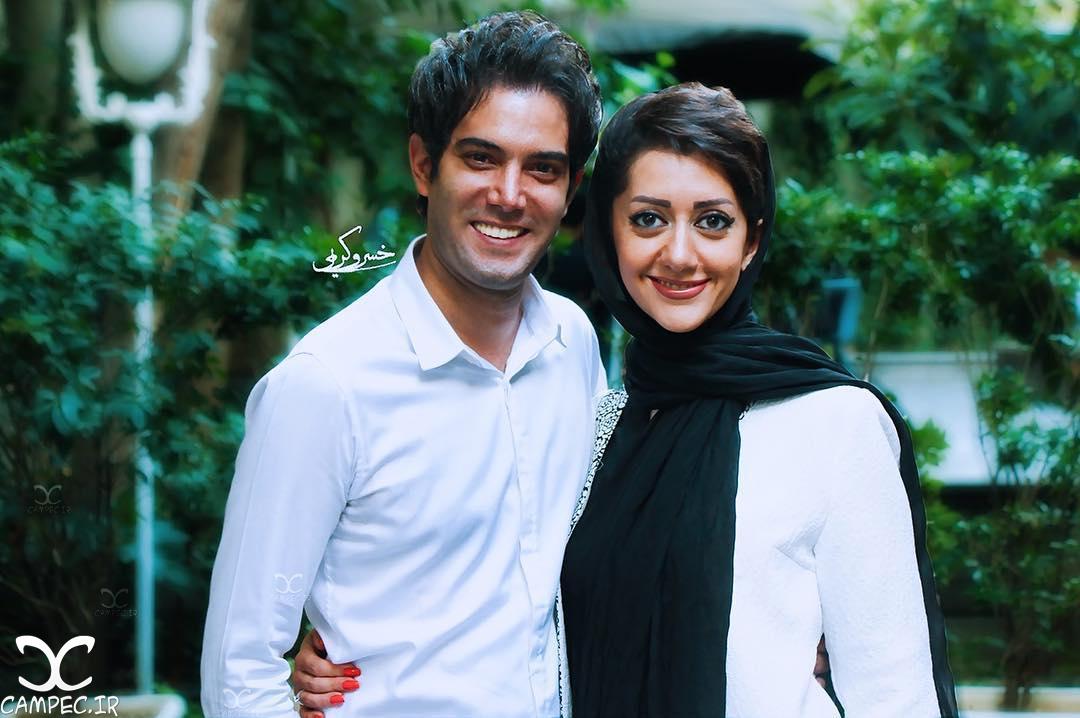 عکسهای امیر علی نبویان و همسرش بهار نوروزپور