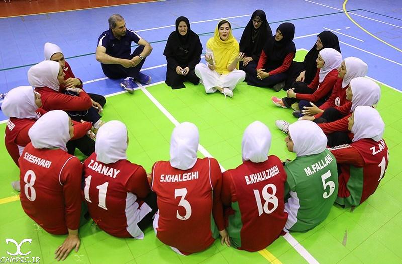 مهتاب کرامتی در جمع ملی پوشان والیبال نشسته ایران