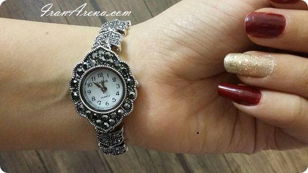 خرید ساعت مچی نگین دار