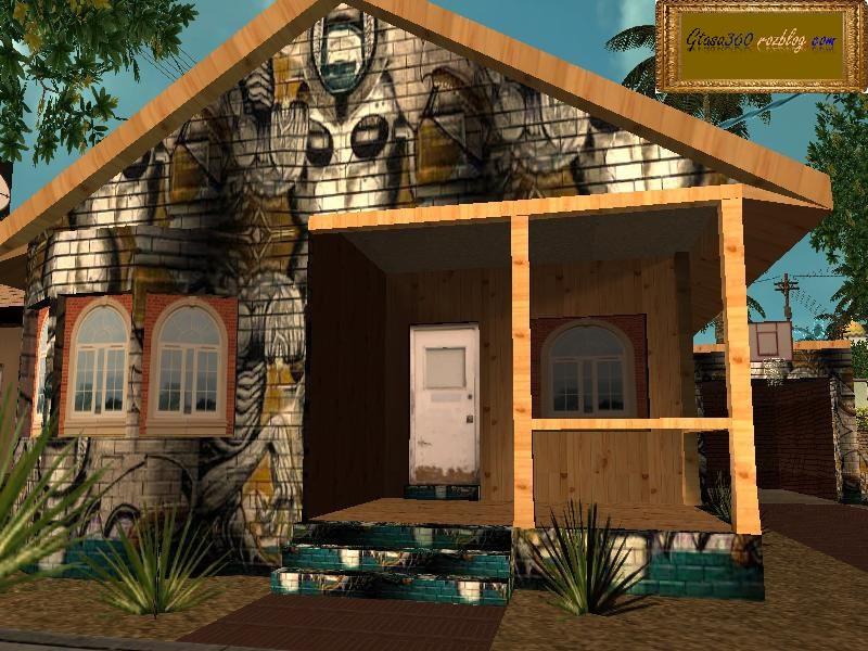 خانه ی جدید بیگ اسموک برای gta sa