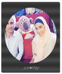 کیمیا علیزاده به همراه خانوادش در خندوانه+عکسها