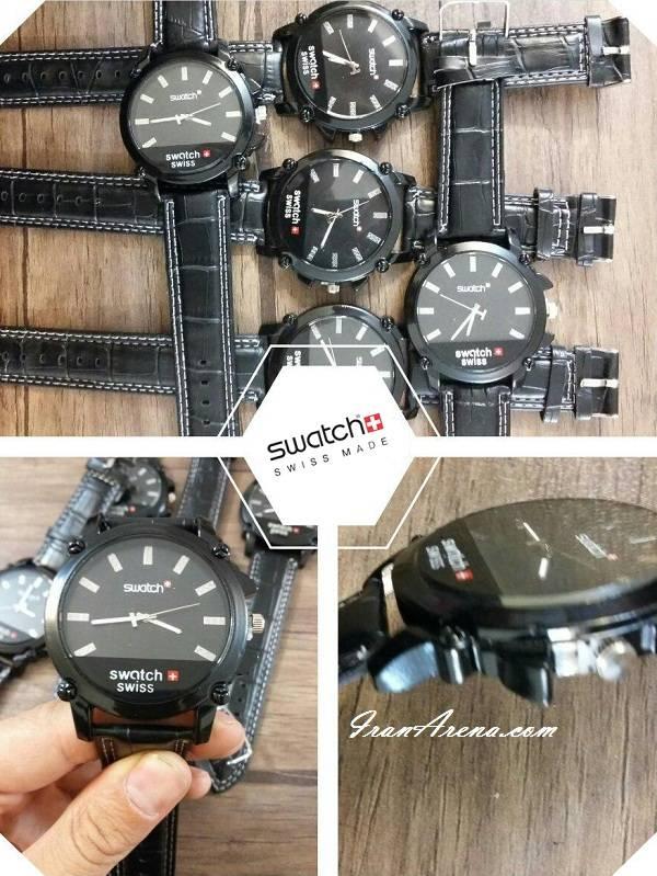 مدل جدید ساعت مردانه سواچ