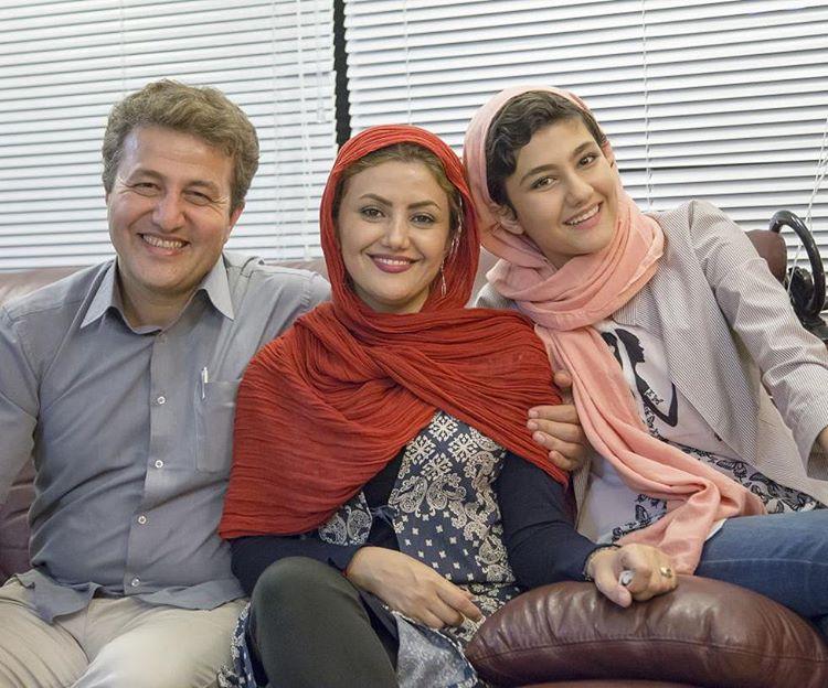 بیوگرافی و عکسهای ماندانا نصرتی و همسرش
