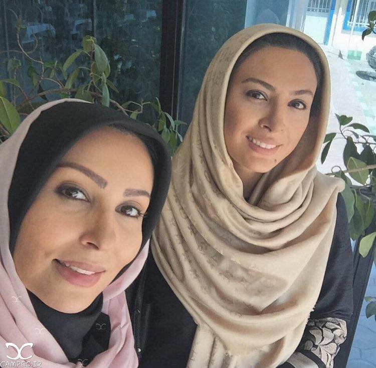 حدیثه تهرانی و پرستو صالحی