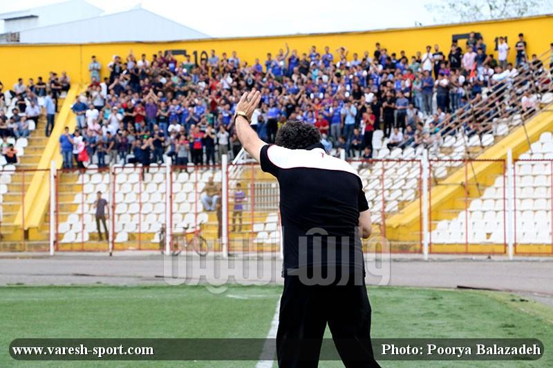گزارش تصویری بازی داماش گیلان و نفت نوین آبادان