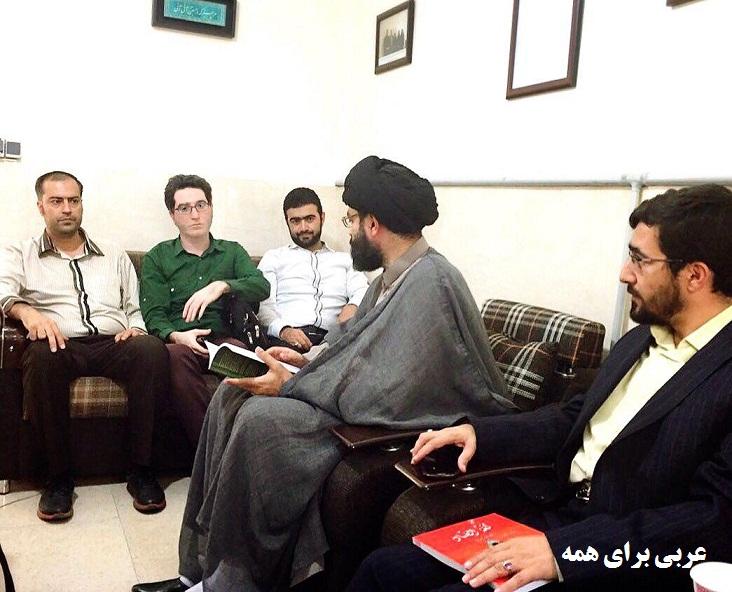 آقای سید عارف حسینی رحیمی کیا سعدی معهد الضاد مرکز زبان حوزه علمیه