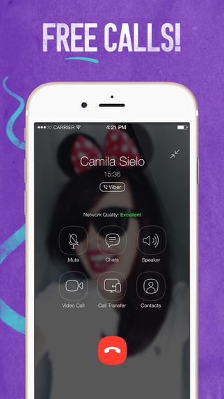 دانلود برنامه پیام رسان وایبر viber برای آی او اس و آیپد
