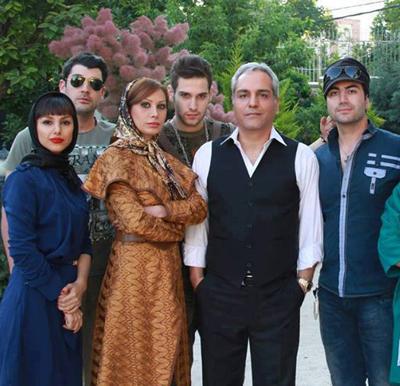 عکس زن مهران مدیری همسر خانواده مهران