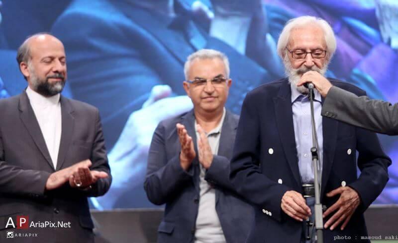 جمشید مشایخی در هجدهمین جشن خانه سینما 21 شهریور 95