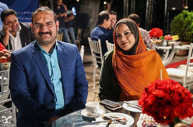 نرگس آبیار و همسرش در جشن روز ملی سینما