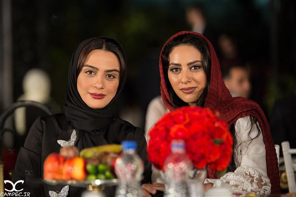 مونا و مارال فرجاد در جشن روز ملی سینما