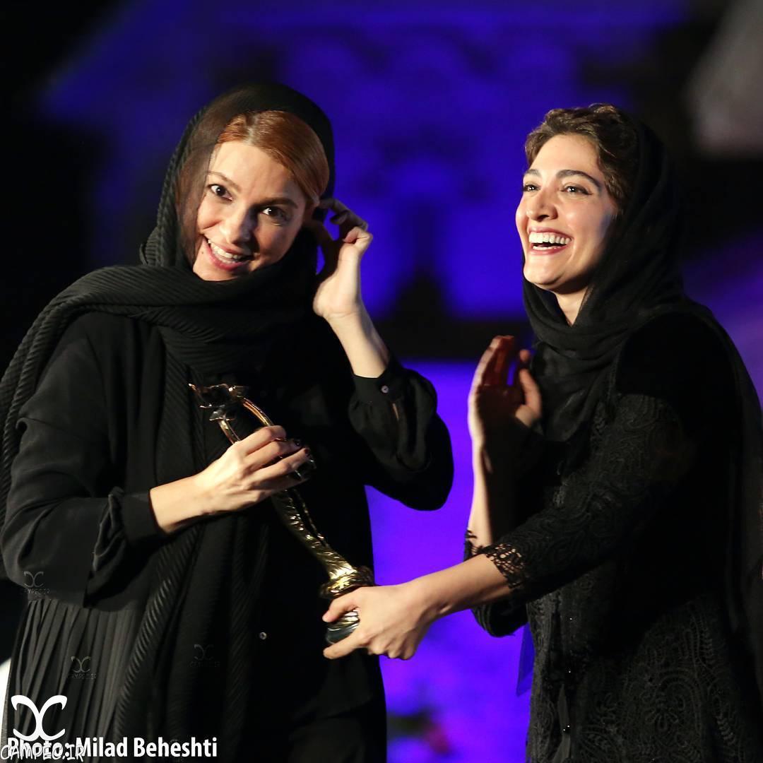 مینا ساداتی در هجدهمين جشن خانه سینما