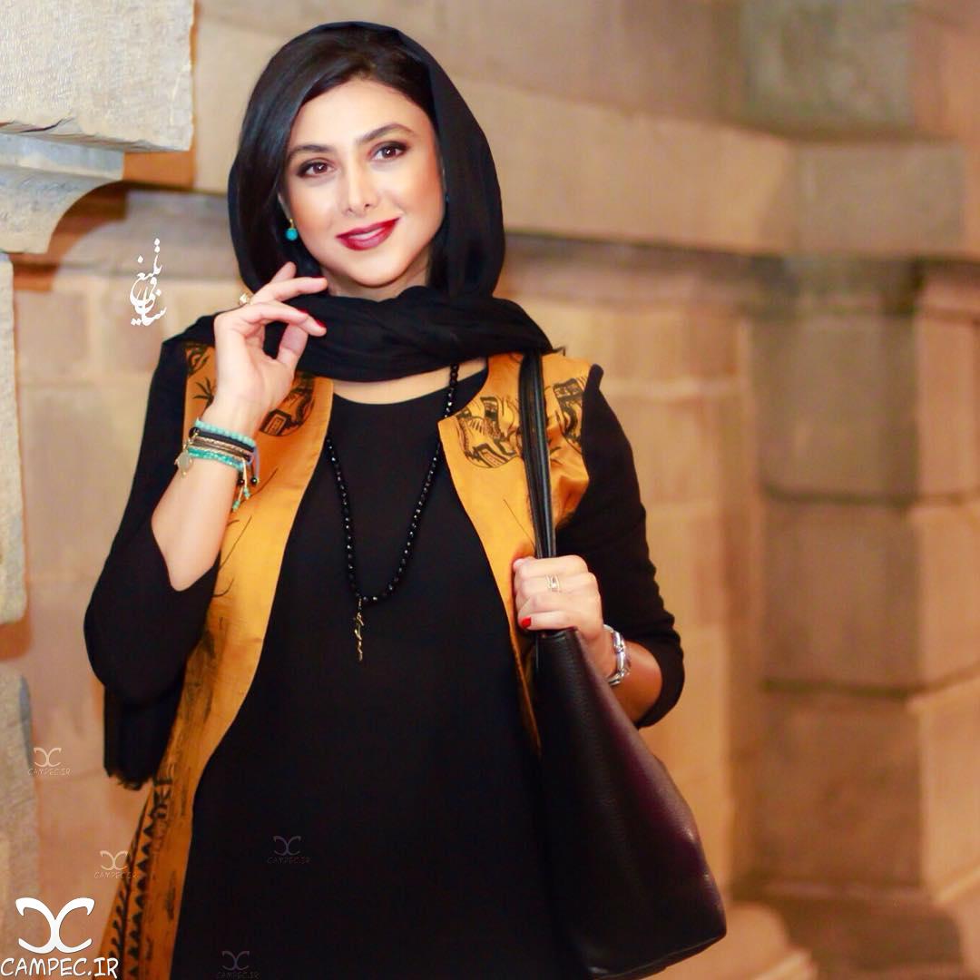 آزاده صمدی در هجدهمین جشن خانه سینما