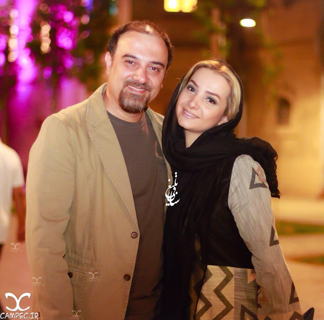 برزو ارجمند و همسرش در هجدهمین جشن خانه سینما