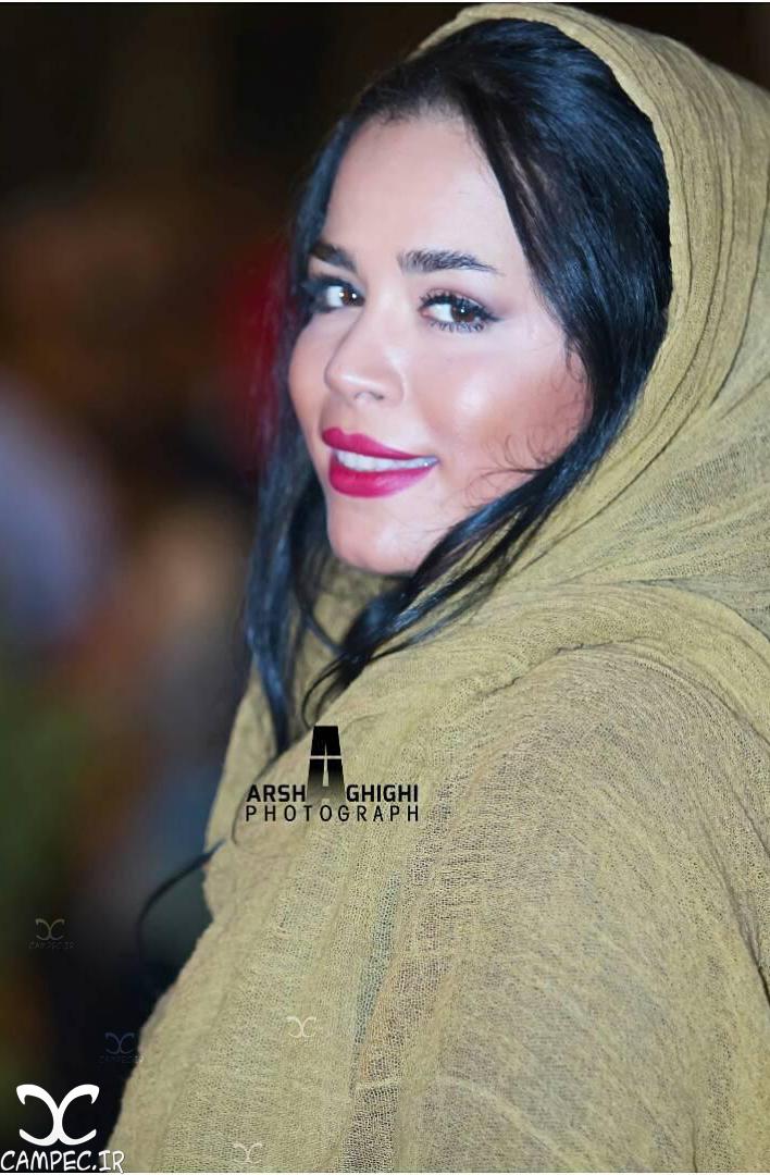 ملیکا شریفی نیا در هجدهمین جشن خانه سینما