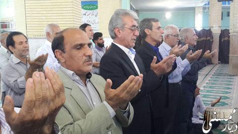 نماز عید قربان در ممسنی