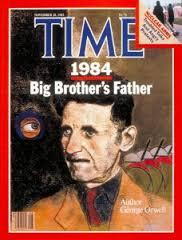 جرج اورول روی جلد مجله تایم